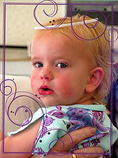 Carli purple brushes