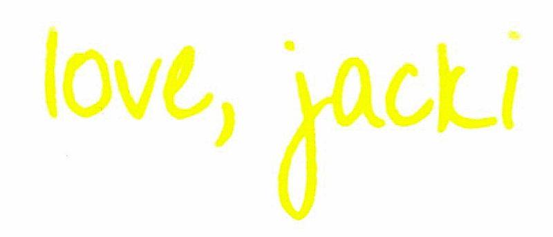 Love, jacki