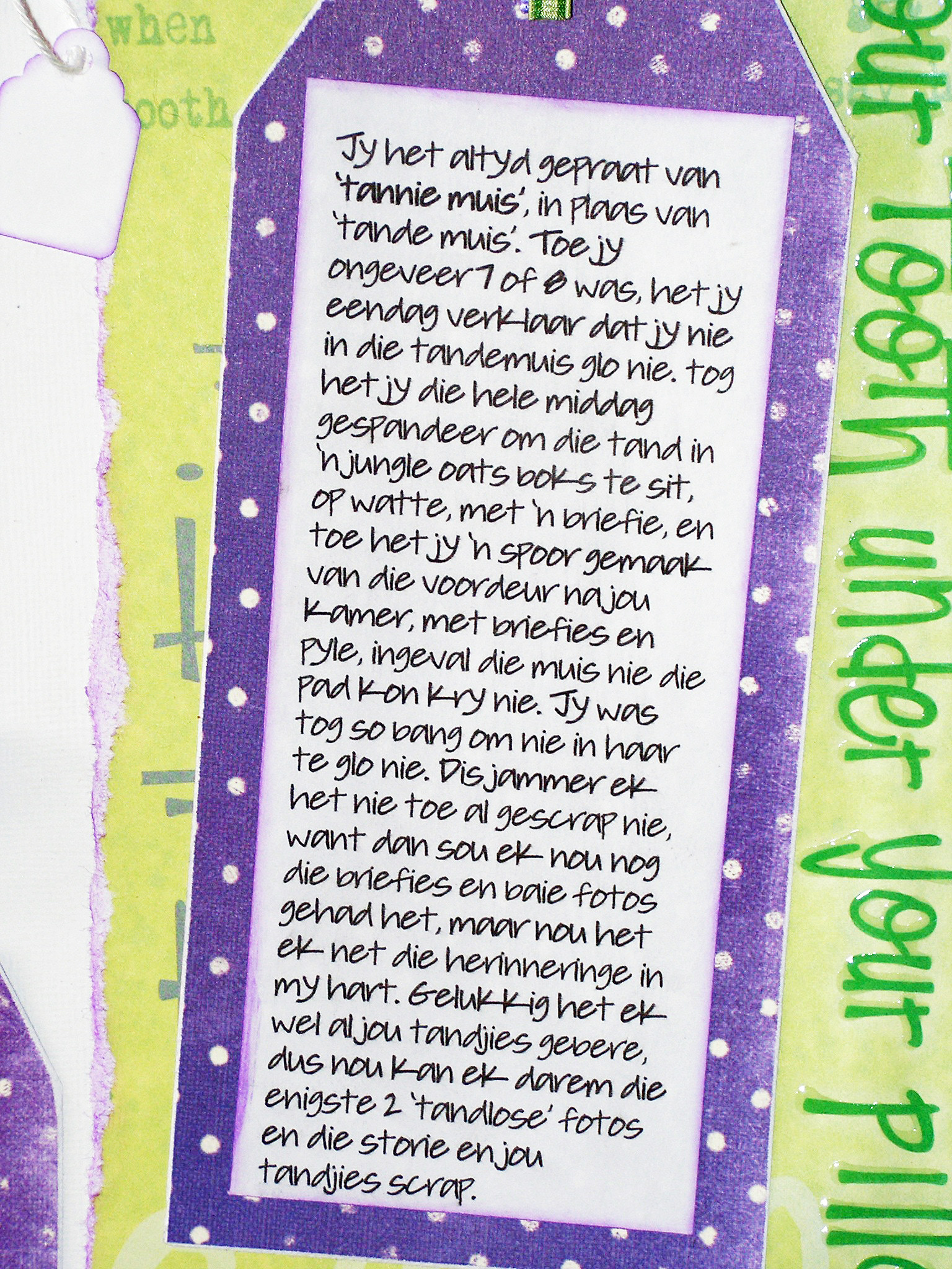 scraps of jackis life tannie muis  time and about magazine issue 8