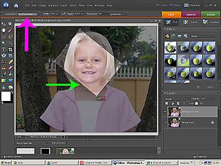 Cropping screenshot