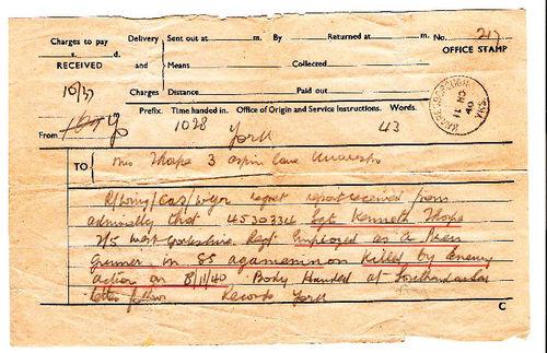 Telegram Thorpe